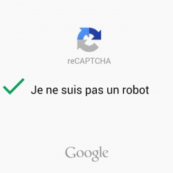 Google propose une version simplifiée de «reCaptcha»